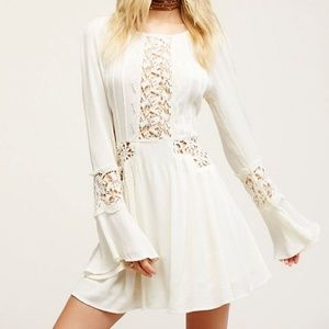 "Free People ""Sunkissed"" Crochet Dress"
